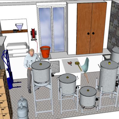 L'atelier de brassage
